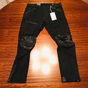Brand NWT G Star Raw Black Denim Jeans